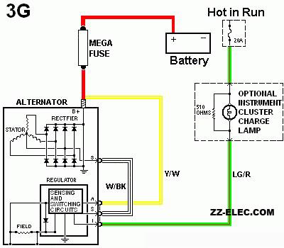 alternator wiring question  cruisers  sailing forums